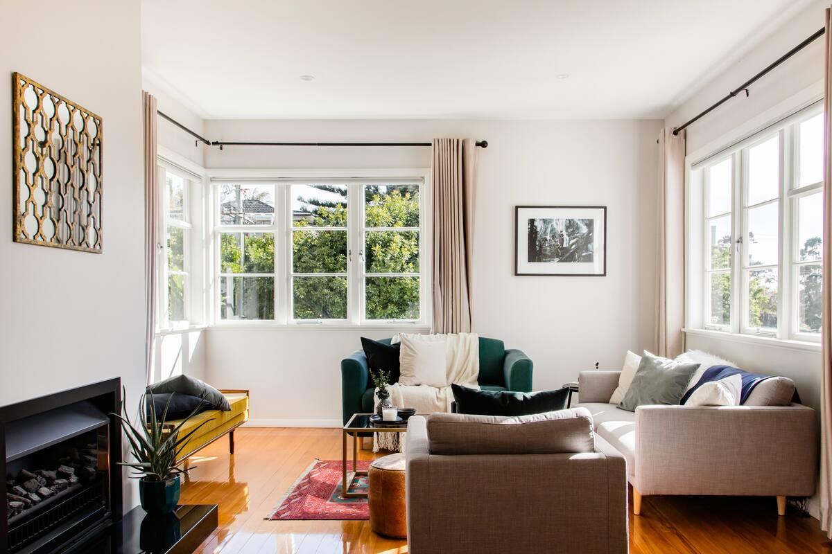 Sunny, Stylish, Modernised 1940s House