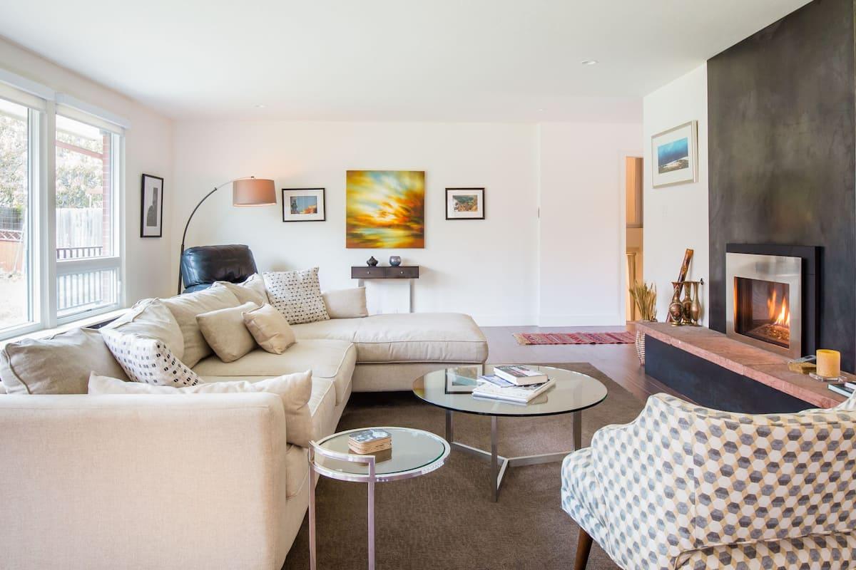 Elegant Contemporary Home near Folsom Stadium