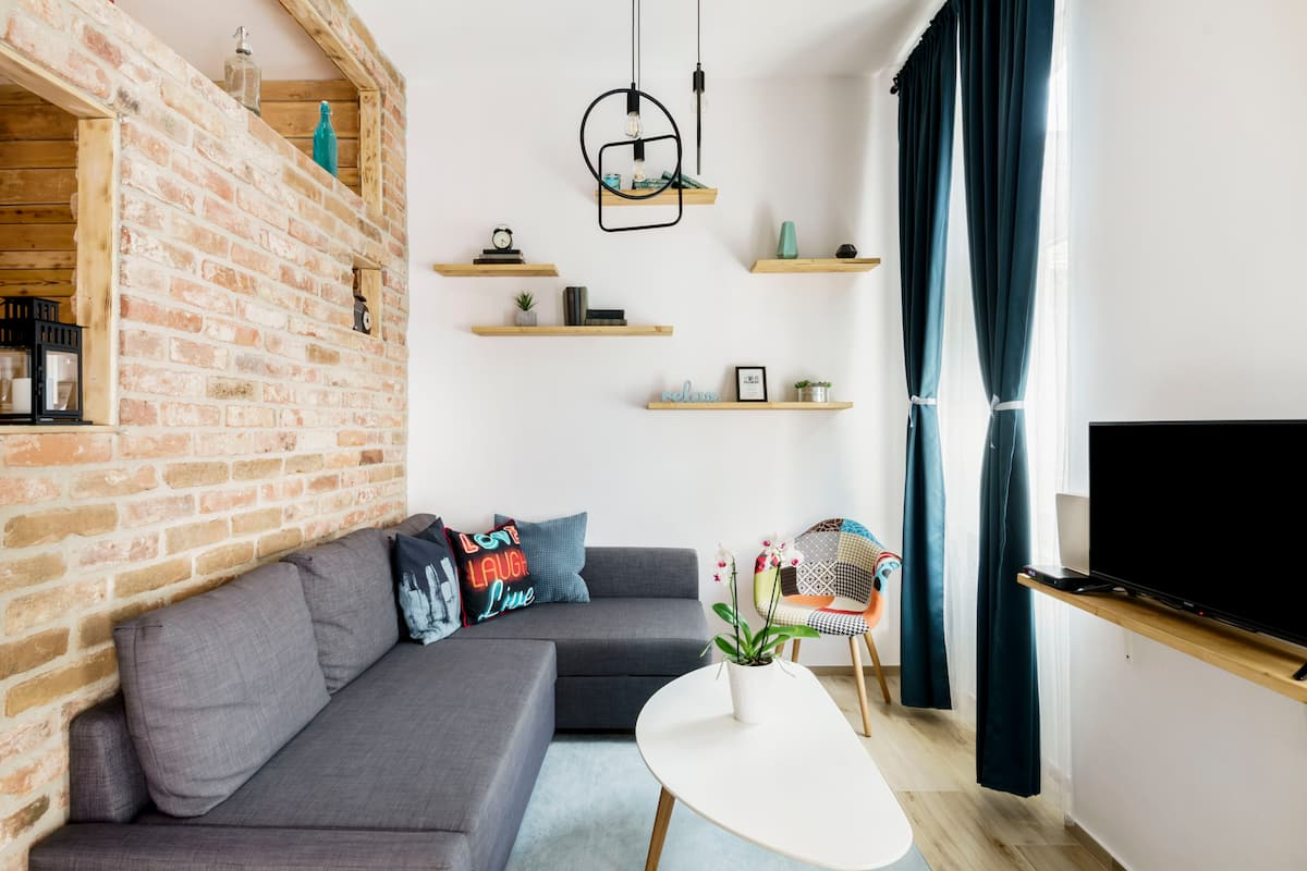 Radiant, Scandi-Style Apartment in the Heart of Budapest