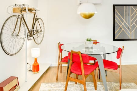 Explore Hip Intendente from a Colourful Apartment