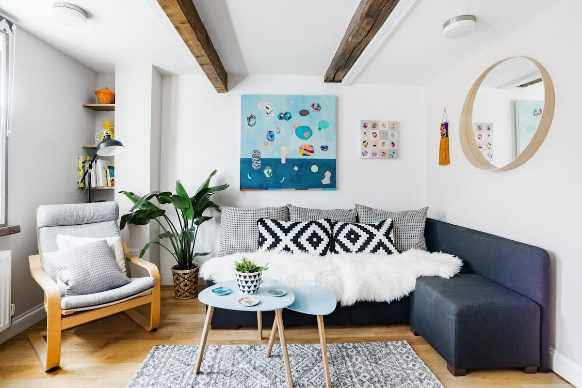 Hip, Art-Filled Flat in Stokes Croft