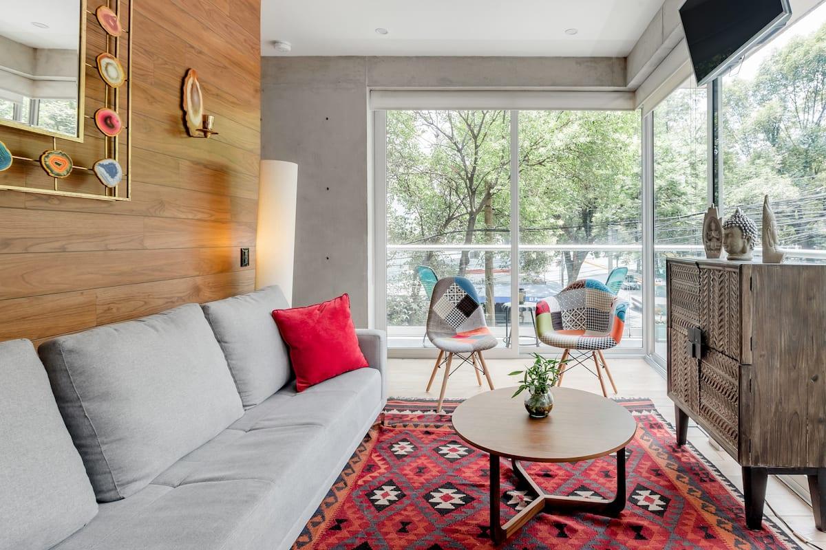 Haz de este totalmente nuevo departamento en la Condesa, tu casa en CDMX
