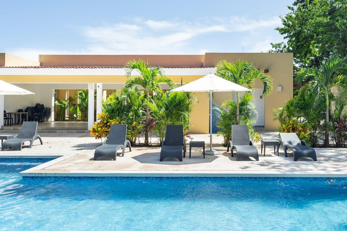 Casa en Playa del Carmen con Cenote alberca gym