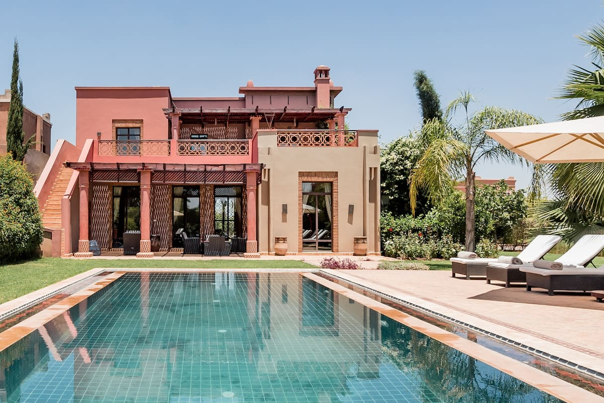 Villa d'exception sur le golf de Samanah