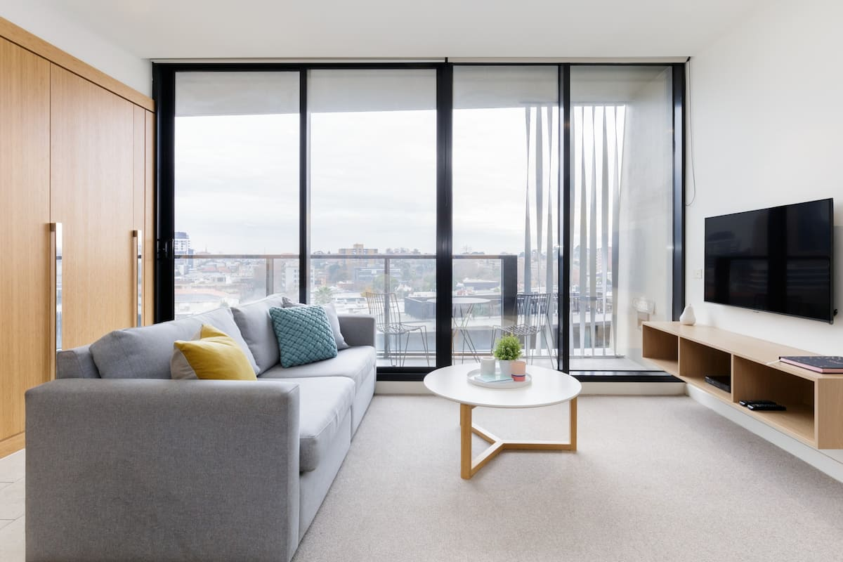 South Yarra Ultramodern Apartment with Amazing City Views