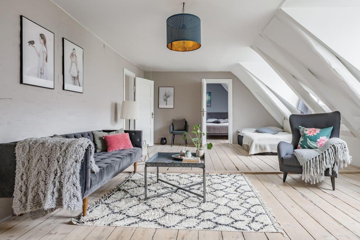 Explore Copenhagen from a Central Home