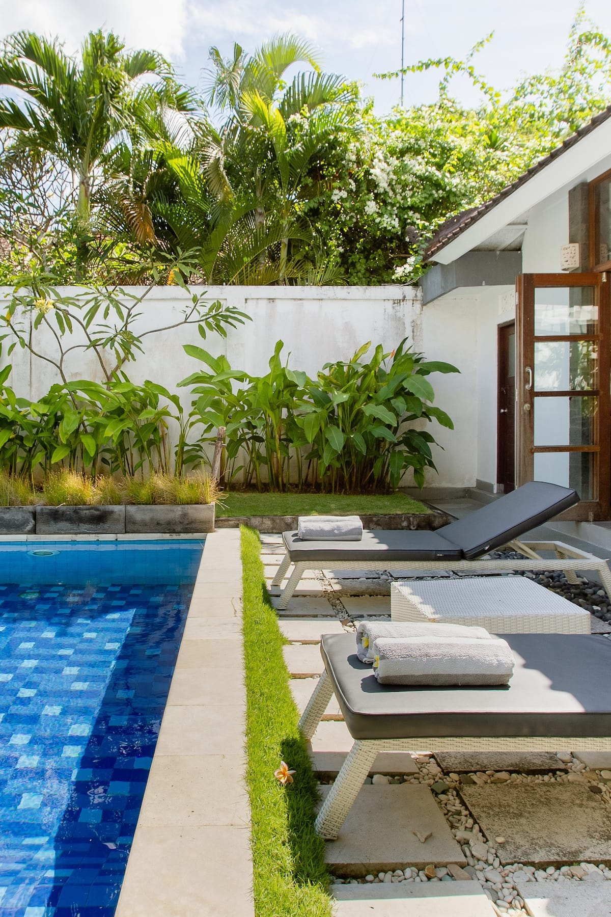 Villa Dharma de rêve dans un cadre verdoyant