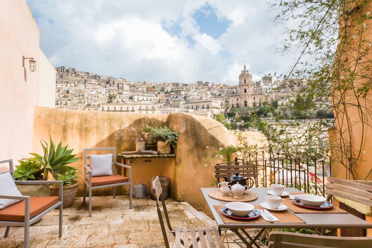 Casa Stella - San Giorgio Suites - Un affaccio di sogno su Modica antica