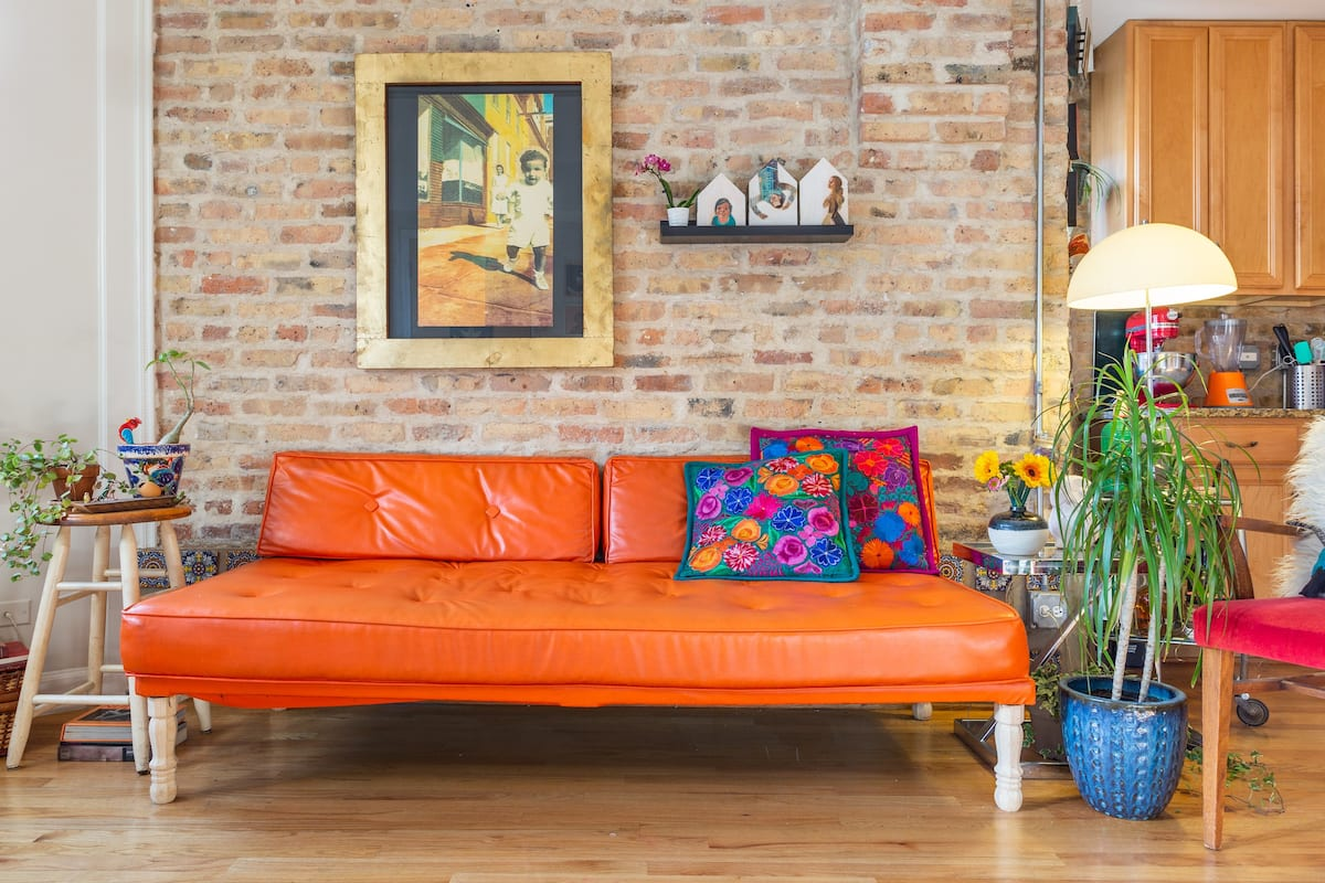 Sunny Character-Filled Apartment in Trendy Ukrainian Village
