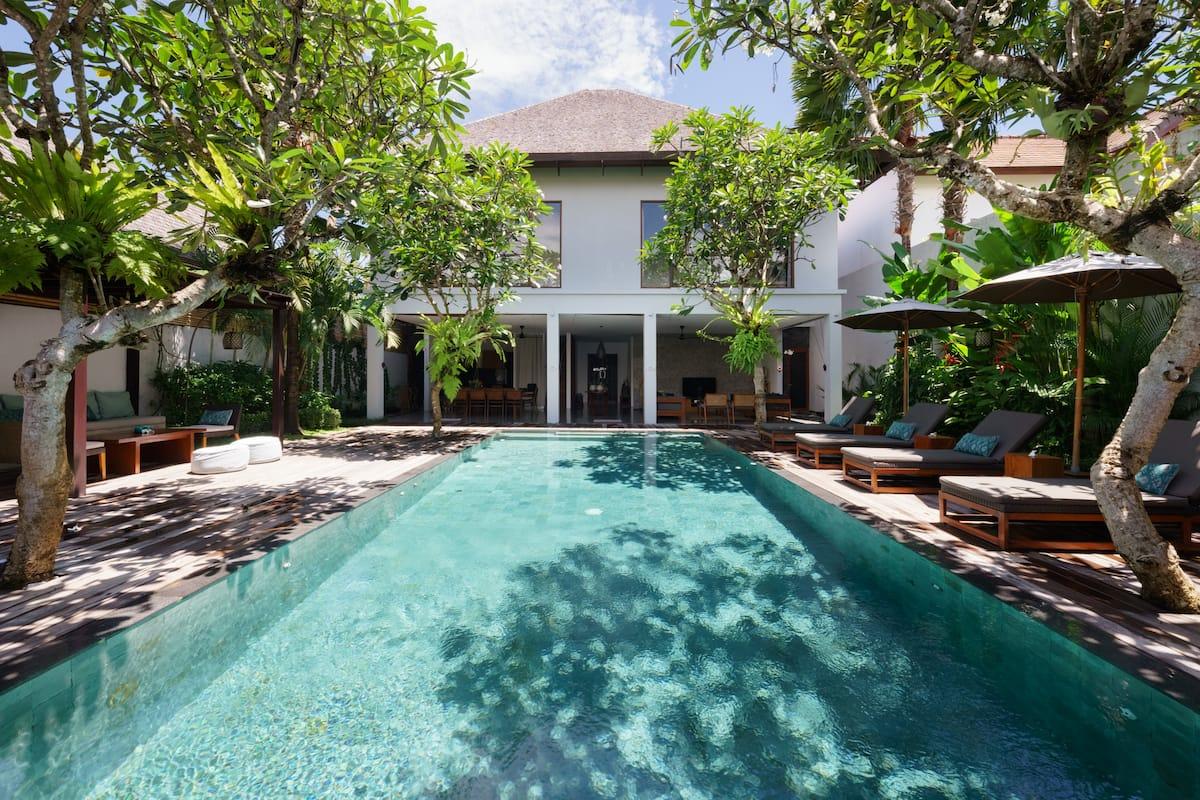 Villa ZIBA Seminyak BALI Hus med Luxury 5 bedroom villa