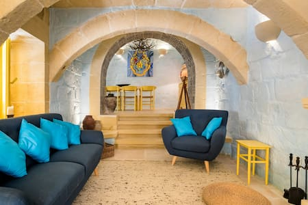 Picturesque Farmhouse With a Swimming Grotto on Gozo