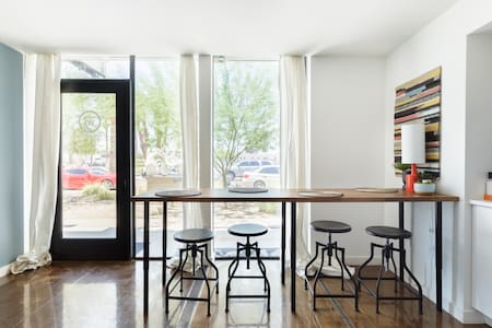Stay in a Converted Shipping Container