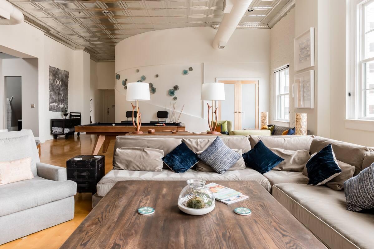 Revitalized Industrial Boutique Loft Apartment