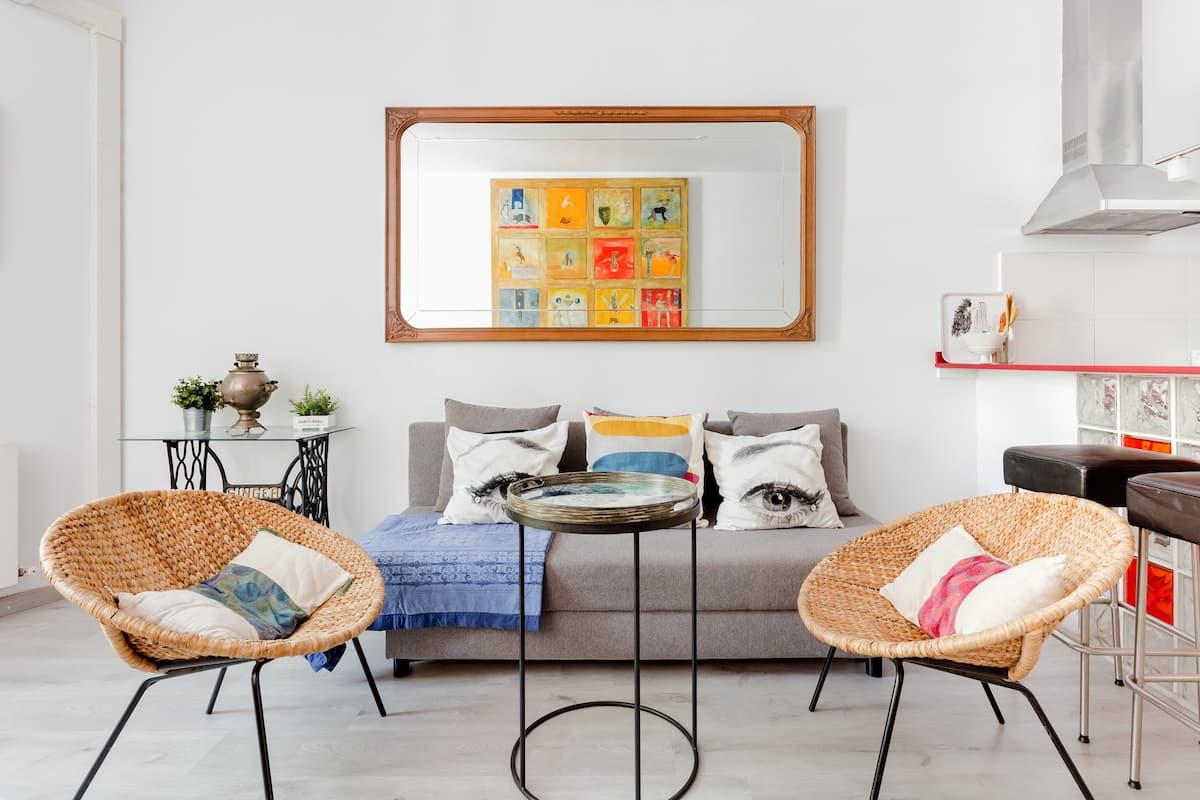Céntrico apartamento con estilo propio