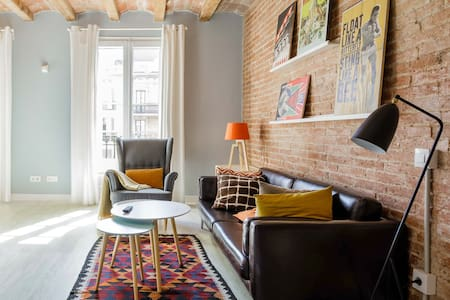 Vintage-Inspired Apartment near Passeig de Gracia