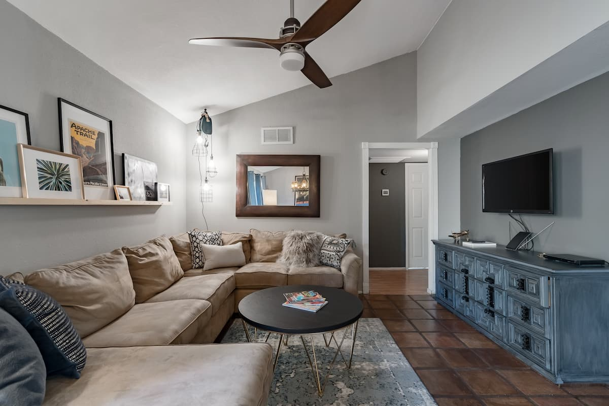 Modern Condo Meets Southwest with Large Private Patio