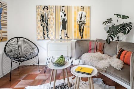 Cozy Providencia Studio by River Costanera & Metro