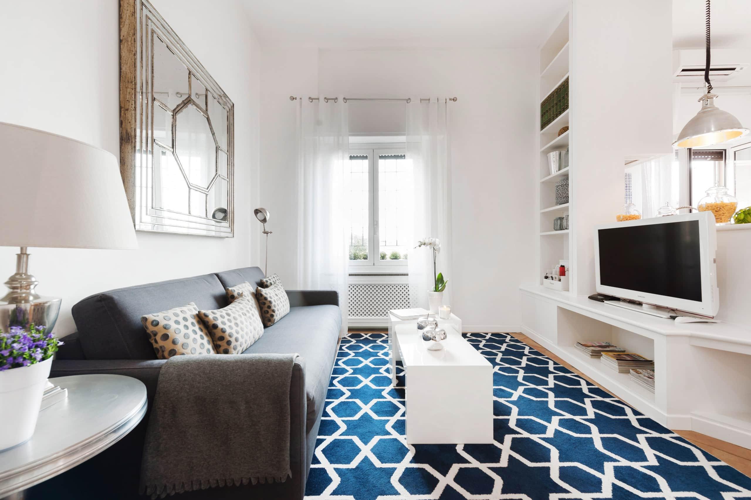 Elegante appartamento di design accanto al vaticano for Appartamento design roma