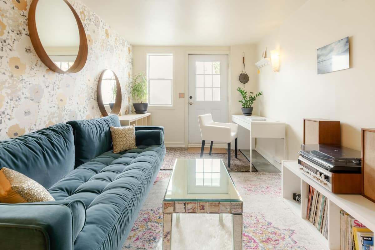 Get Cozy at a Hip, Vintage-Style Retreat