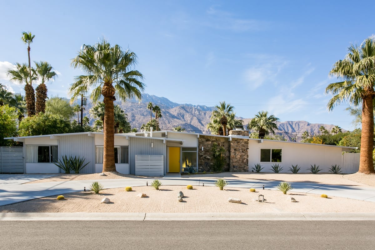 Immaculate Mid-Century Home with a Saltwater Pool and Spa