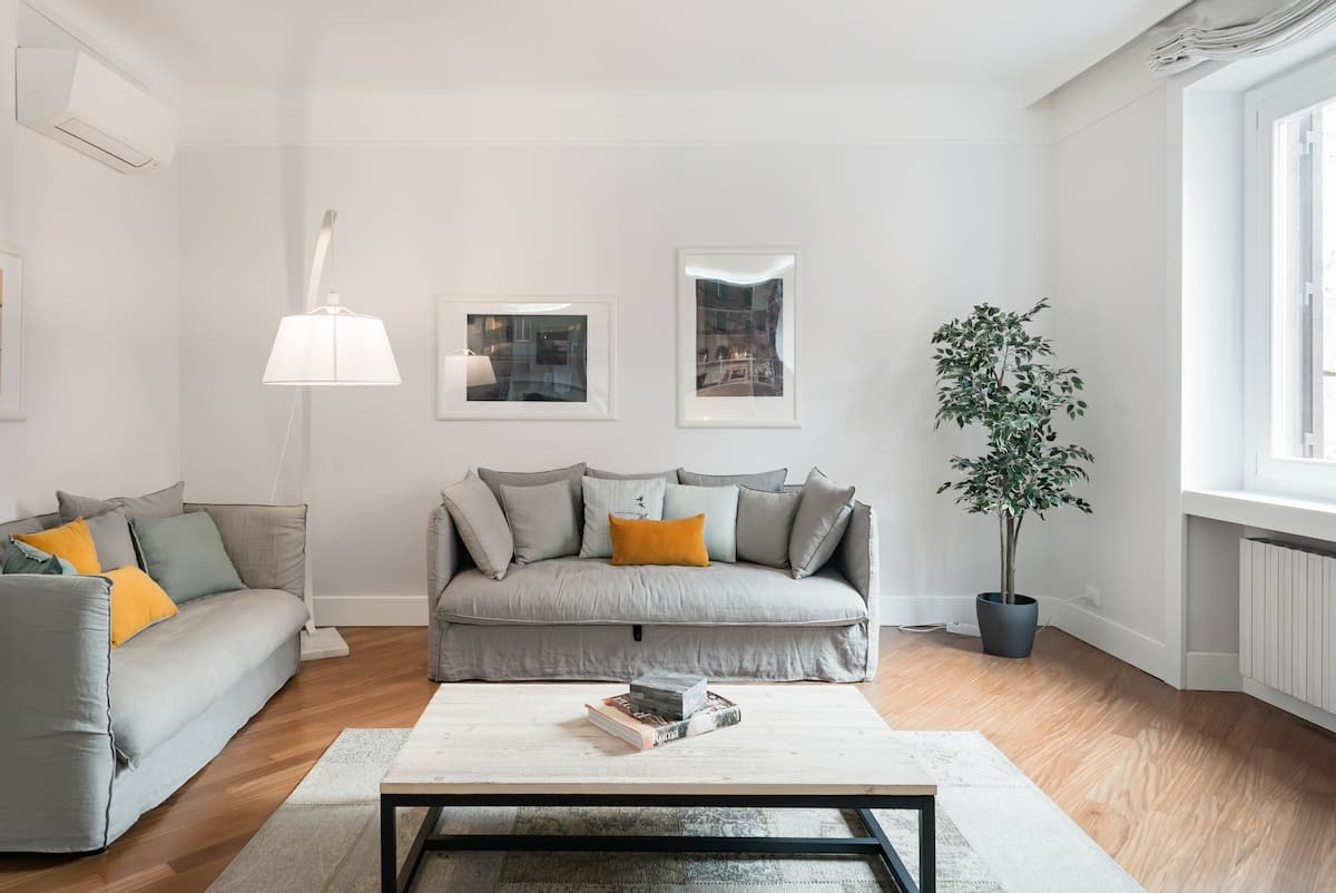 Magnificent Monti Apartment Steps from Colosseum