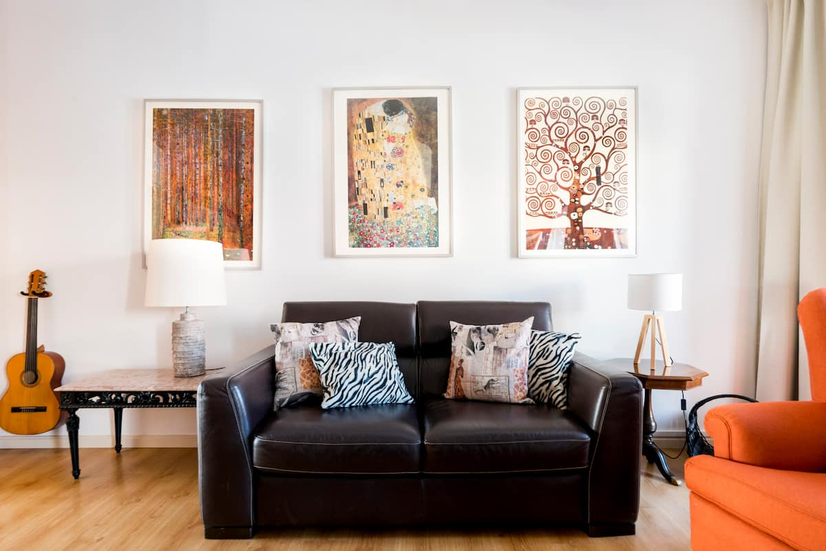 Inhale the Artistic Spirit of Lisbon from a Modern Flat