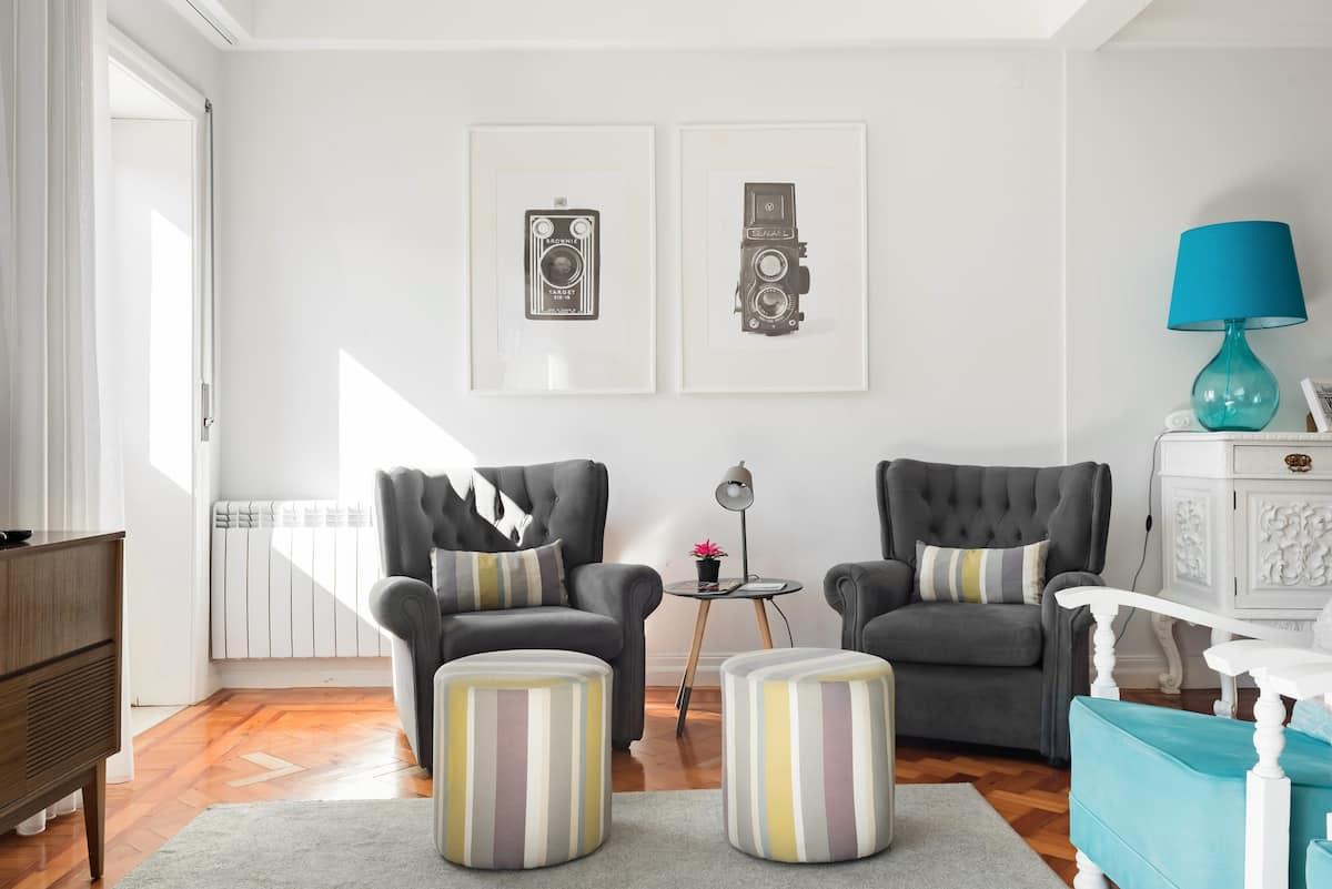 Apartamento luminoso e sofisticado no centro do Porto
