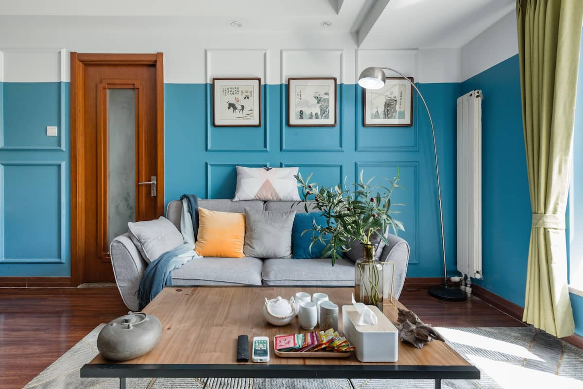 近罗马湖的蔚蓝公寓