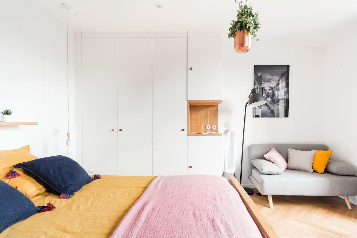 Studio versaillais rénové par un architecte