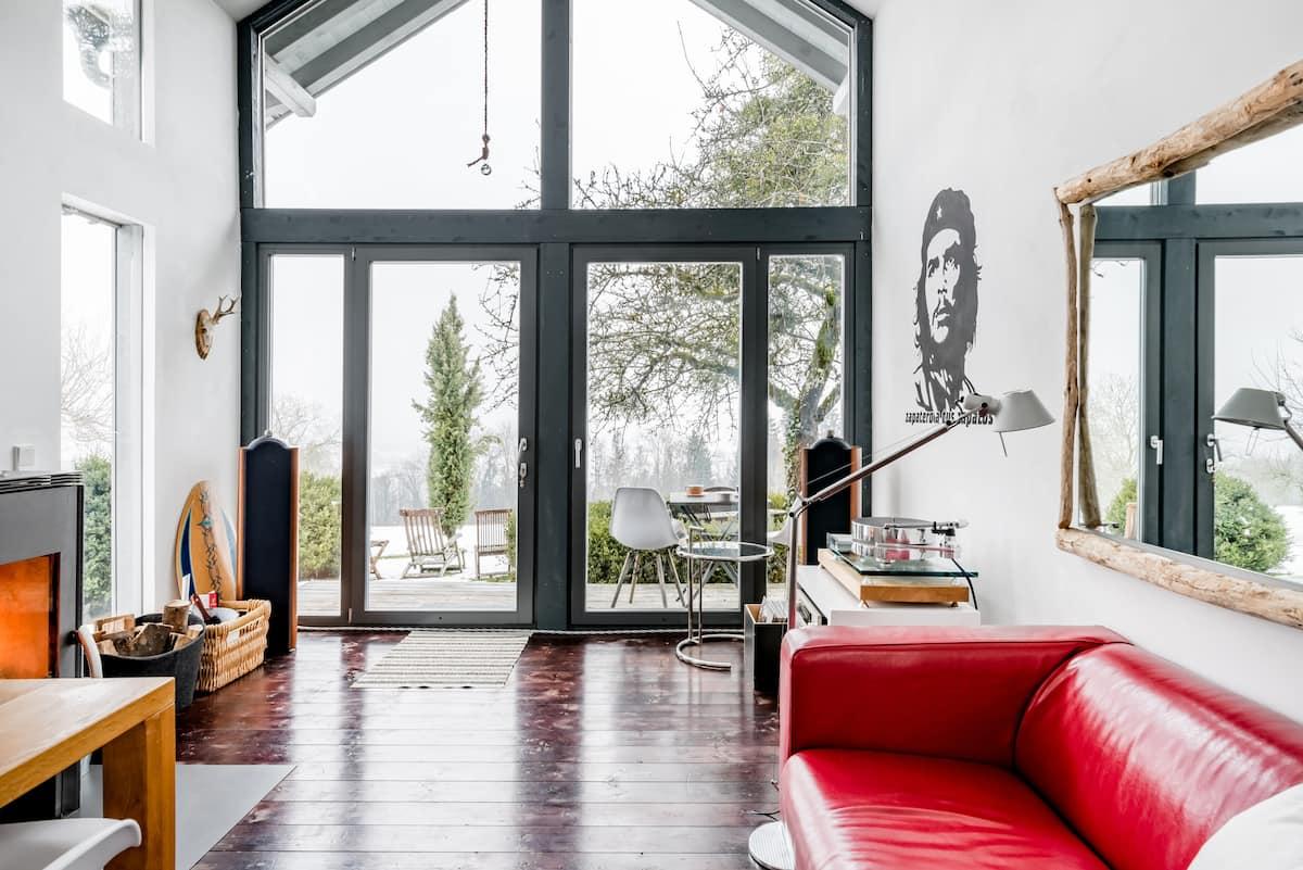 Kleines Haus mit großartigem Blick und gemütlichem Kamin