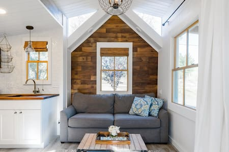 Wine Country Tiny Home with a Fire Pit and Hammock