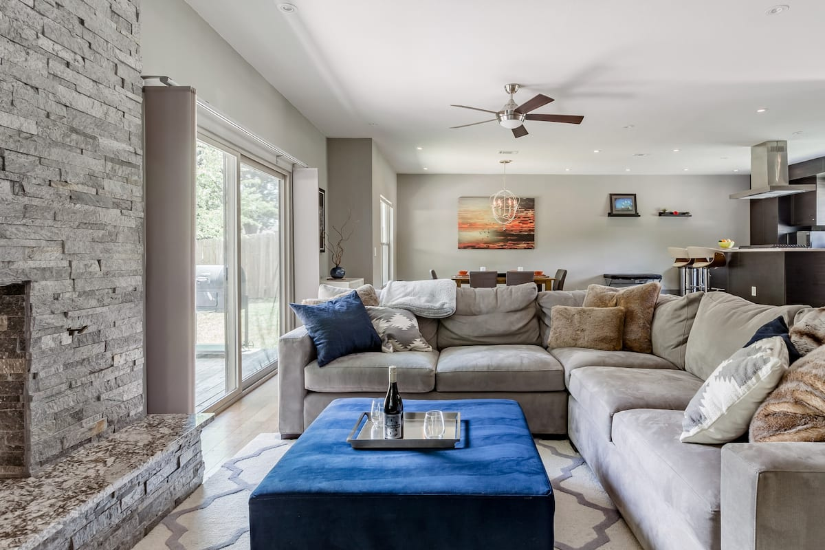 Family-Friendly Home with a BBQ Patio in East Austin