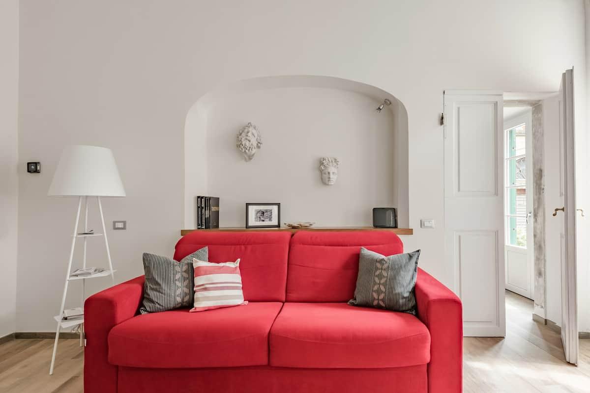 Eclettico appartamento nell'antico quartiere di Borgo Pinti