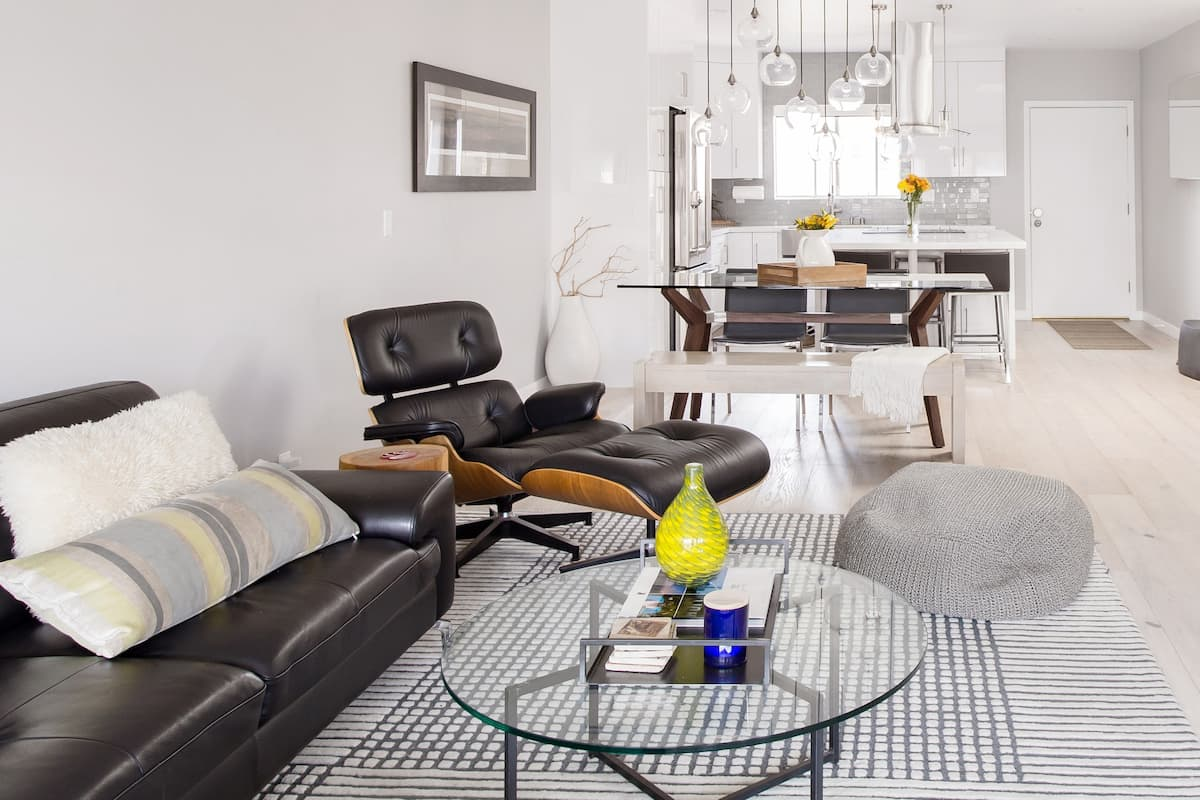 Kick Back on the Leather Recliner at a Chic WeHo Getaway