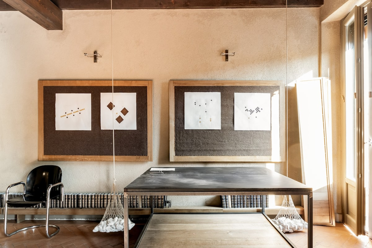 Play Ping-Pong at a Hip Naviglio Pad with Inventive Bed