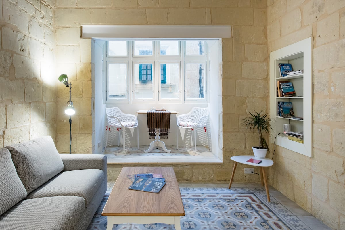 Modernized 100-Year-Old Townhouse on Gozo Island