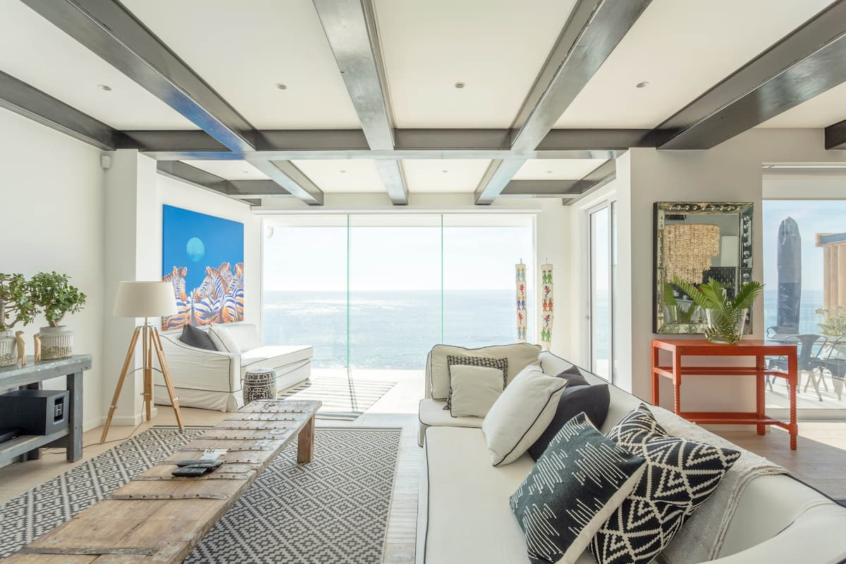 Opulent Clifton Beach House with Uninterrupted Sea Views.