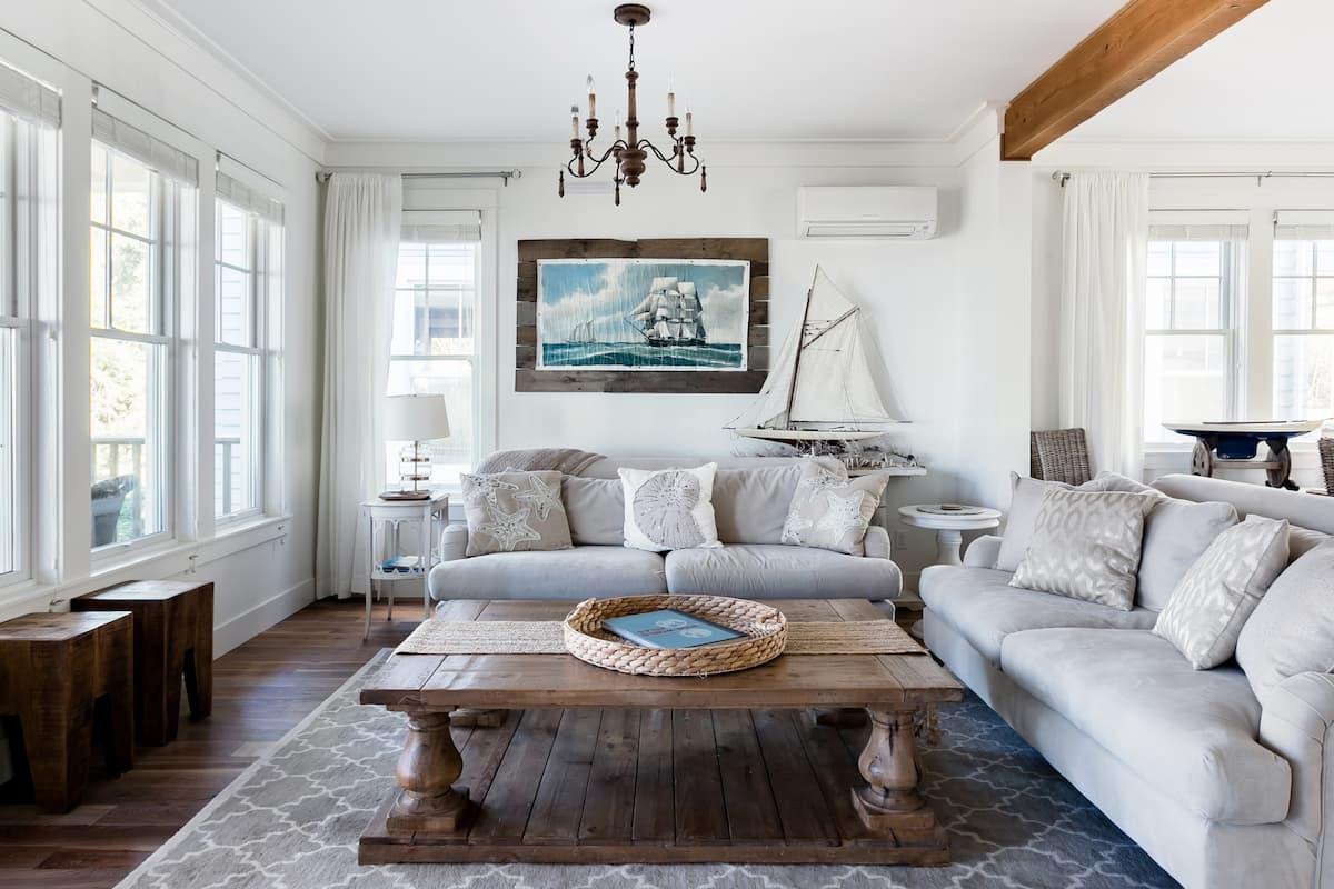 Elegant Maritime Home with Quintessential Shoreline Views