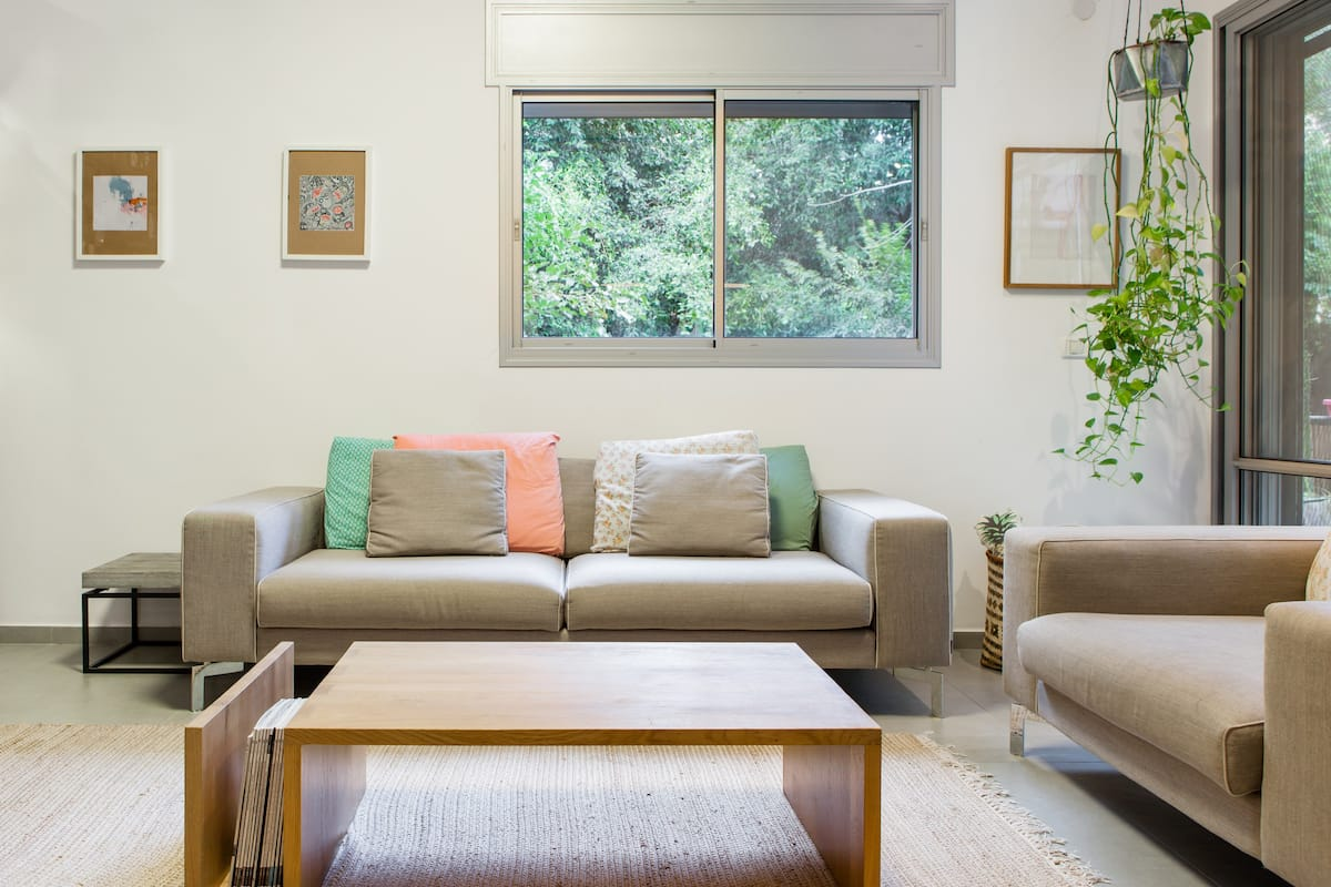 Designed and Quiet in the Heart of Tel Aviv