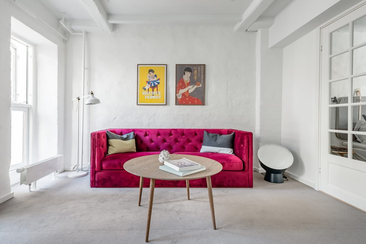 Re-Imagined Flat in Historical Building