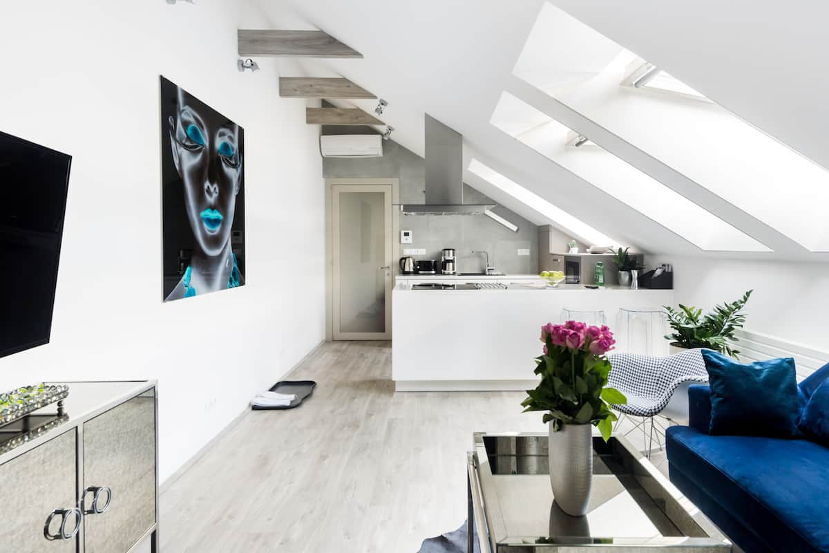 Sleek Penthouse in the Old Town