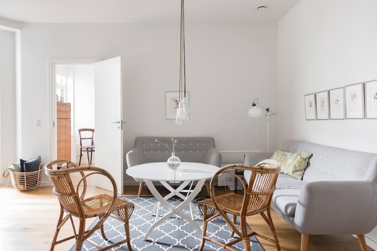 Modern, Art-Filled Apartment in the Heart of Copenhagen