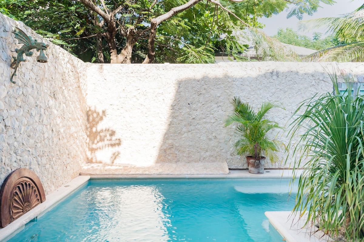 Secret Oasis with a Tranquil Pool in Central Tulum