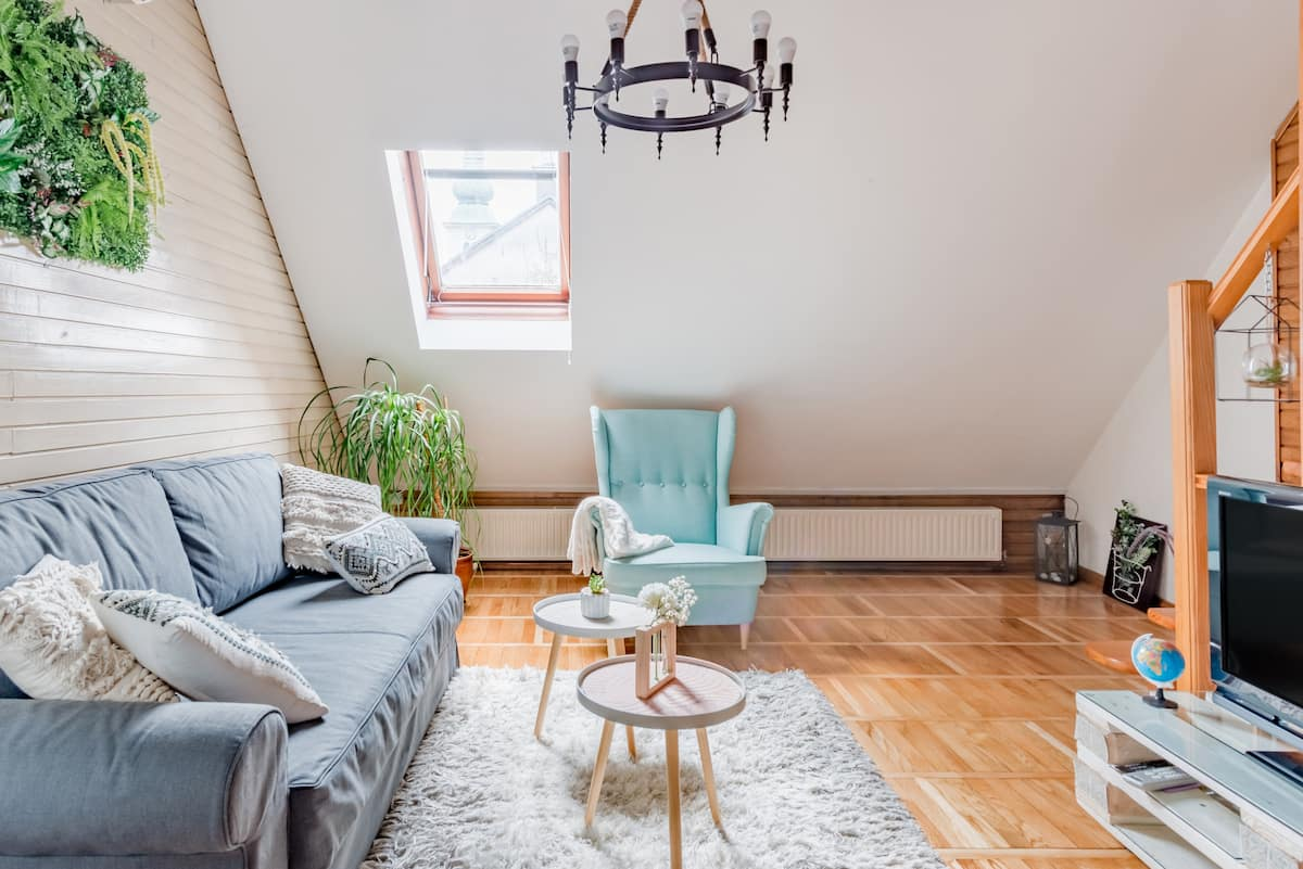 Soak up the Old Town Feel at a Charming Three-Level Loft