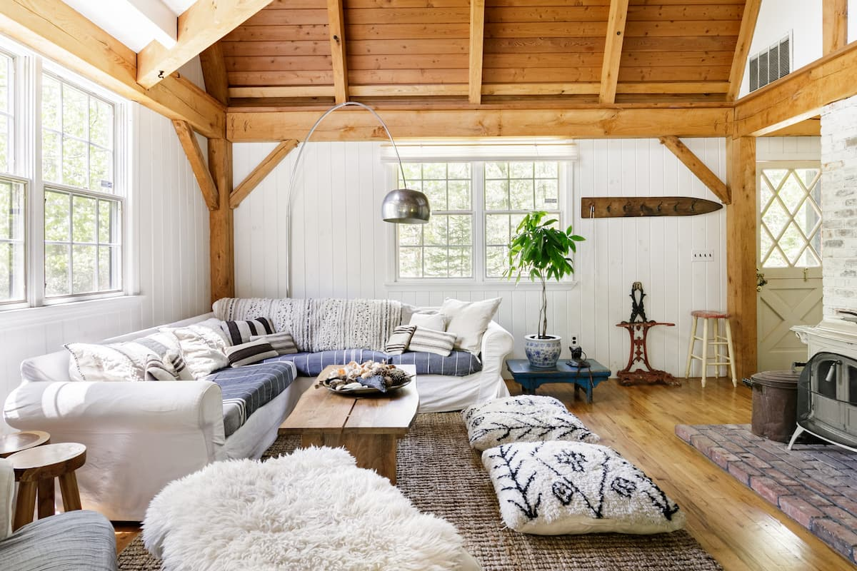 Lofty Beach Barn