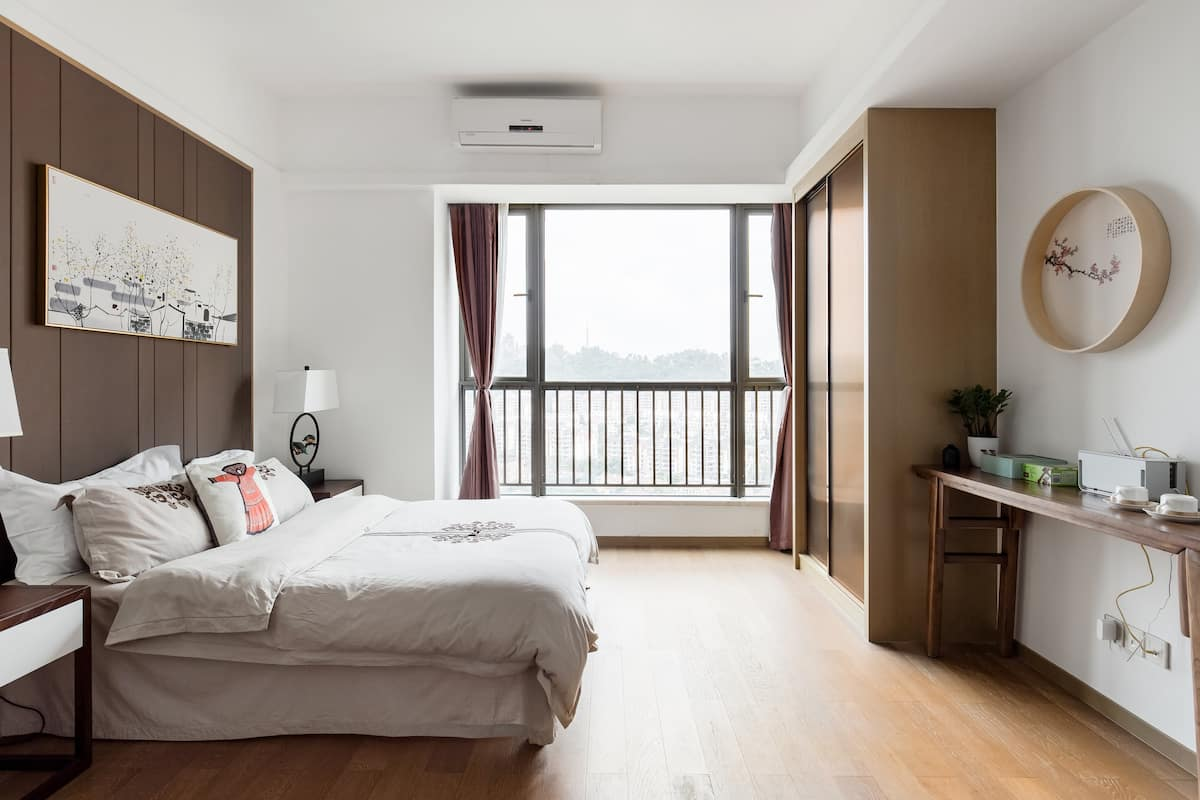 在风格清新的中式一居室中体验悠闲的禅意生活