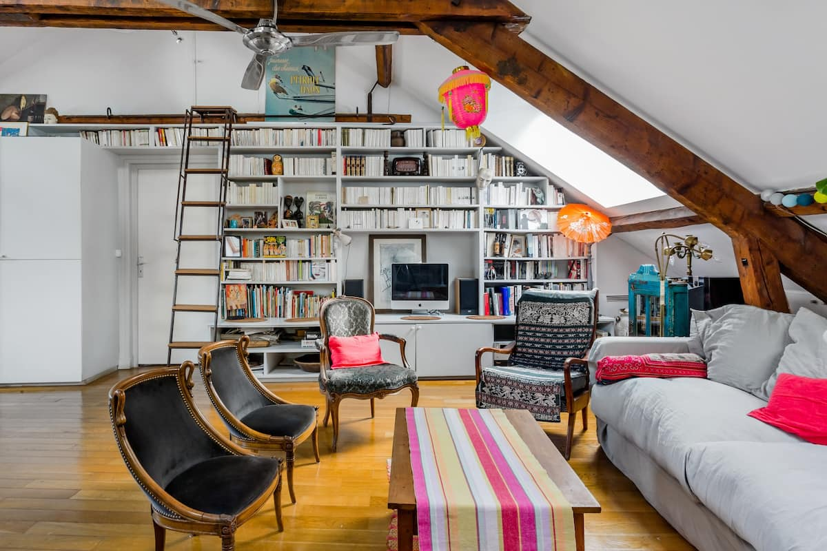Marvelous Loft near the Aligre Market in Paris