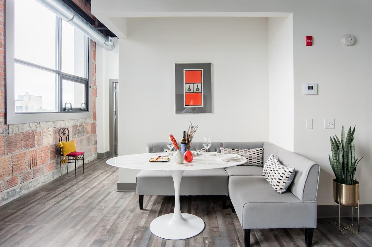 Executive Designer Loft in Rochester's First Aparthotel