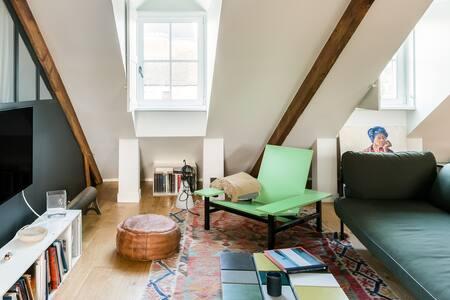 Séjournez dans un loft au caractère unique dans le centre de Vannes