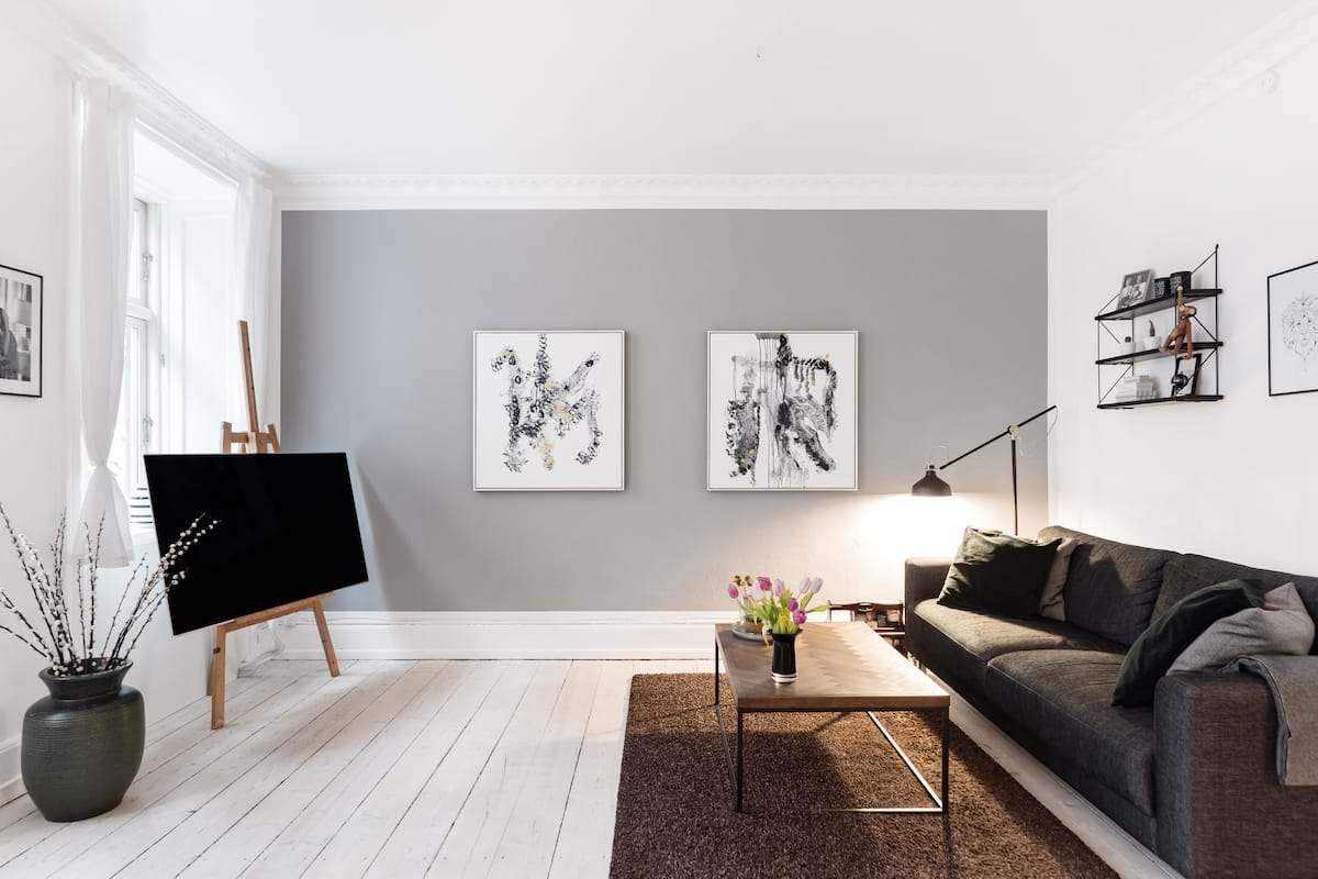 Impeccably-Designed Vesterbro Flat in 19th-Century Building